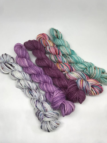 DK minis - Be still/Amethyst/Plum/Faded Christmas/Unrepeatable