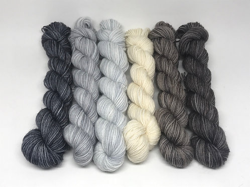 Dyed to order - neutrals