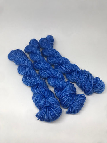 Royal blue mini