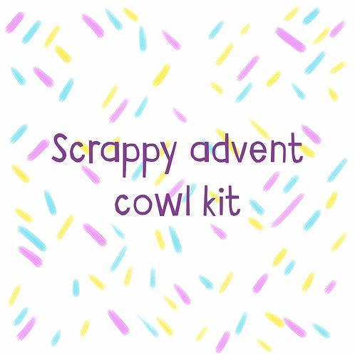 Scrappy advent cowl kits