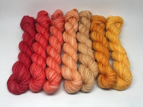 Dyed to order - orange