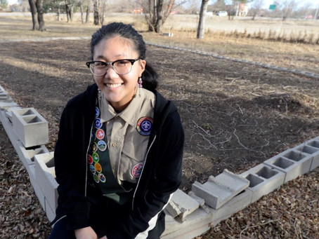 Boulder County's First Female Eagle Scout Selects Safe Haven For Her Eagle Scout Project