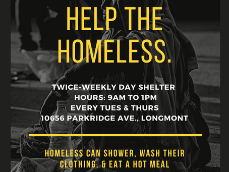 Day Shelter Re-Opens!