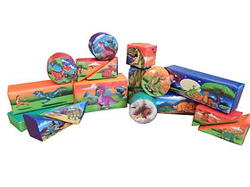 Soft Play - Standard Piece Set Dinosuar