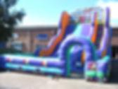 15ft Platform Slide Rollercoaster theme