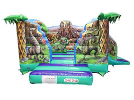 Dinosaur V Bouncer with Side Slide