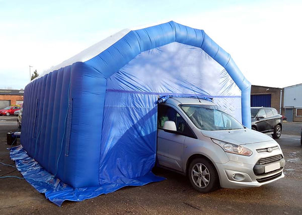 Lightweight Inflatable Workshop