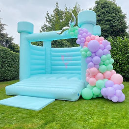 Ice Blue decorated with Balloons