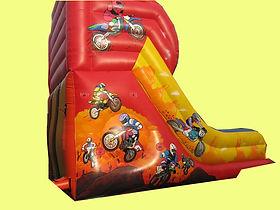 10ft Platform Slide in Bike theme