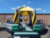 Inflatable Wrecking Ball Game in Industrial theme