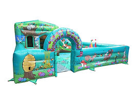 Woodland Toddler Activity Bounce and Slide Combi