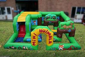 Bespoke Large Toddler Activity Bouncy Castle