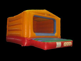 Plain Box Bouncer Bouncy Castle