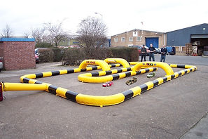 Inflatable Model Car Track - Small track for model cars