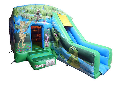Jungle Bounce and Front Slide