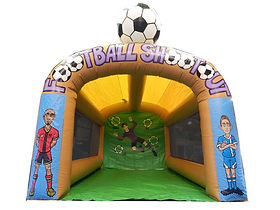 In Stock Brandable Football Shootout with retractable football