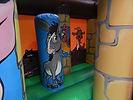 Toddler Activity 16 x 16 Farm Theme Bouncy Castle