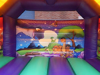 Dinosaur A-Frame Bouncy Castle