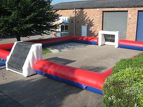 Inflatable Football enclosure