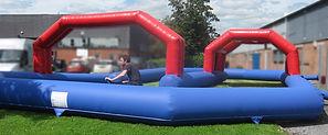 Inflatable Plain segway track