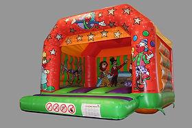 Circus A-Frame Bouncy Castle