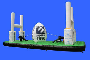 Rugby World Cup branded Inflatable Bungee Game
