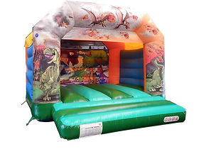 Stock Dinosaur A-Frame Bounce Castle
