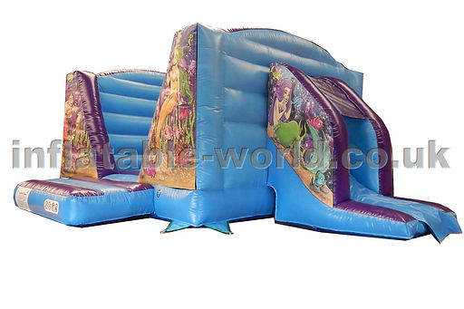 Changeable panels V Bouncer with Side Slide Combi