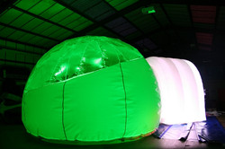 w Party Pod with Green Light inside