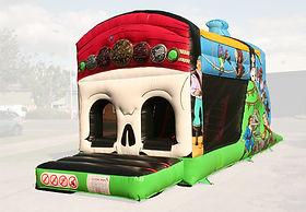 One Part Fun Run Pirate Bouncy Castle
