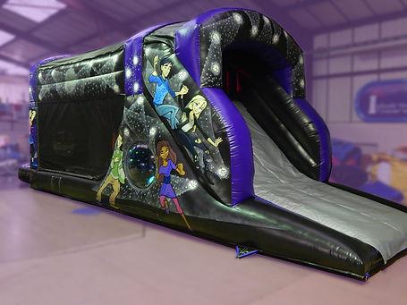 One Part Fun Run Disco Bouncy Castle