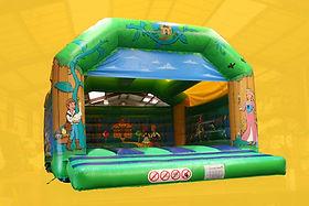 Fairytale theme Large A-Frame Bouncy Castle