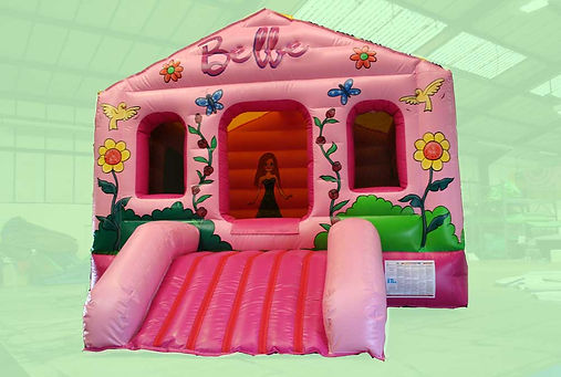 Pink Doll theme Box Bouncer Bouncy Castle
