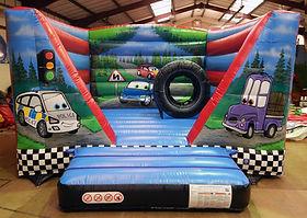 Cars V-Bouncer Bouncy Castle