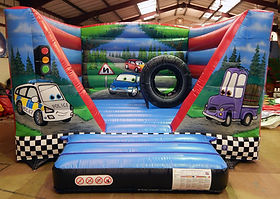 Cars V-Bouncer Bouncy Castle