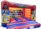 Standard H Frame Bouncy Castle - Pirate