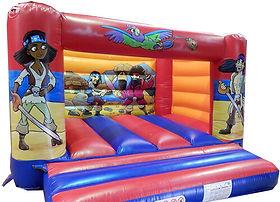 Standard H Frame Bouncy Castle - Pirate