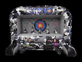 Inflatable Nerf Target Range