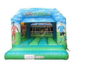 Football A-Frame Bouncy Castle