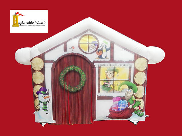 Santa's Grotto with Panels Convertable to Sidestall