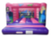 Standard H Frame Princess Bouncy Castle