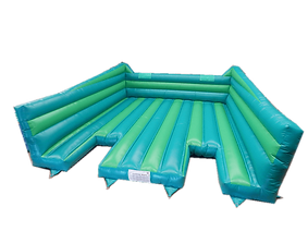 Inflatable Green Wacky Ladder
