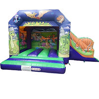 Friendly Dino Bounce and Side Slide
