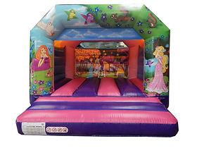 Princess Fantasy A-Frame Bouncy Castle