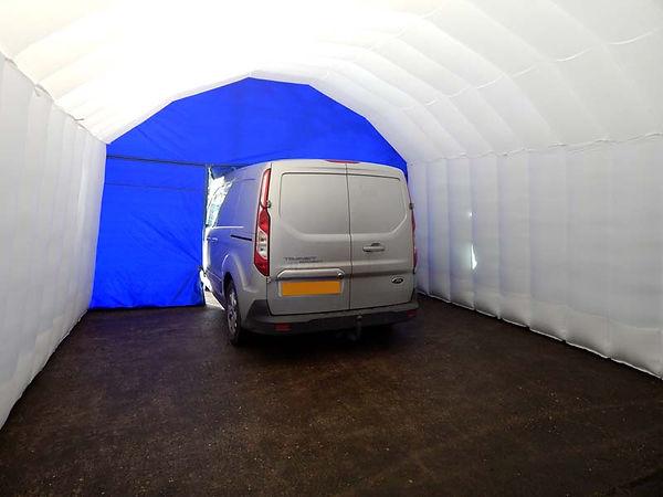 Lightweight Inflatable Workshop