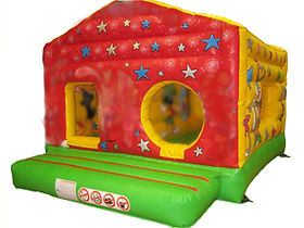 Box bouncer Bouncy Castle with Internal Ballpool