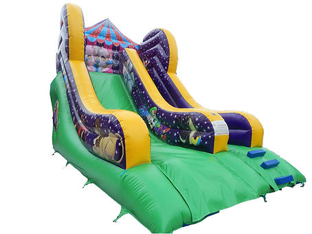 10ft Platform Slide in Latest Circus theme