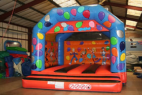 Celebration Large A-Frame Bouncy Castle