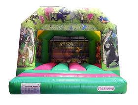 Jungle A-Frame Bounce Castle