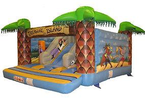Treasure Island Open Activity Unit Bouncy Castle